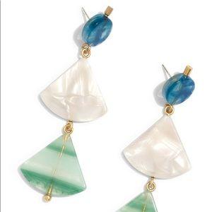 Madewell Resin Drop Earrings